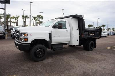 2019 Chevrolet Silverado 5500 Regular Cab DRW 4x4, Reading Marauder Dump Body #20C441 - photo 4