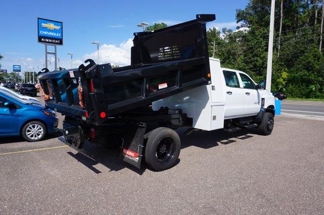 2019 Chevrolet Silverado 5500 Crew Cab DRW 4x4, Reading Dump Body #20C640 - photo 1