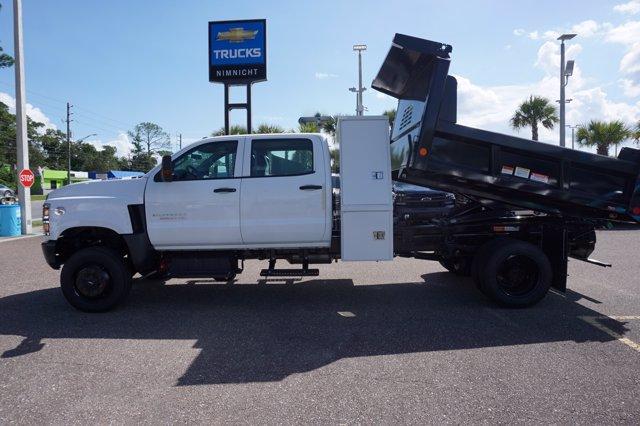 2019 Chevrolet Silverado 5500 Crew Cab DRW 4x4, Reading Marauder Dump Body #20C640 - photo 7
