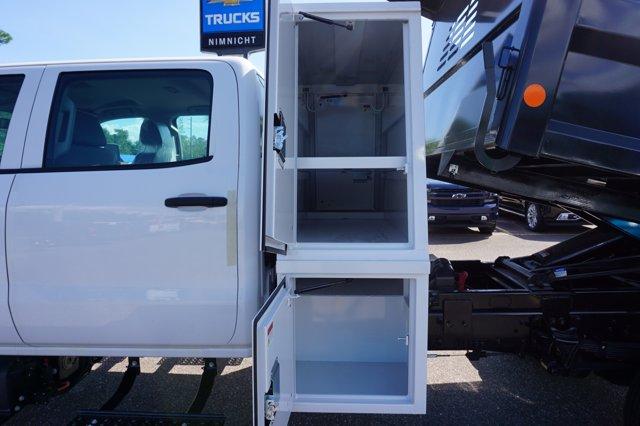 2019 Chevrolet Silverado 5500 Crew Cab DRW 4x4, Reading Marauder Dump Body #20C640 - photo 8