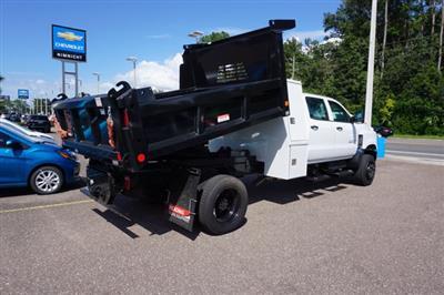 2019 Chevrolet Silverado 5500 Crew Cab DRW 4x4, Reading Marauder Dump Body #20C640 - photo 2