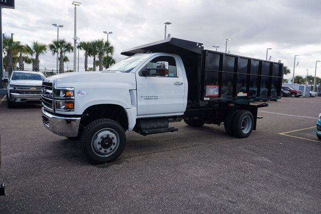 2020 Chevrolet Silverado 4500 Regular Cab DRW 4x4, Reading Landscaper SL Landscape Dump #20C915 - photo 4