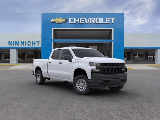 2020 Chevrolet Silverado 1500 Crew Cab 4x4, Pickup #20C936 - photo 1