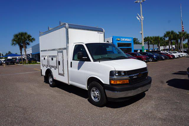 2020 Chevrolet Express 3500 4x2, Rockport Workport Service Utility Van #20G108 - photo 6