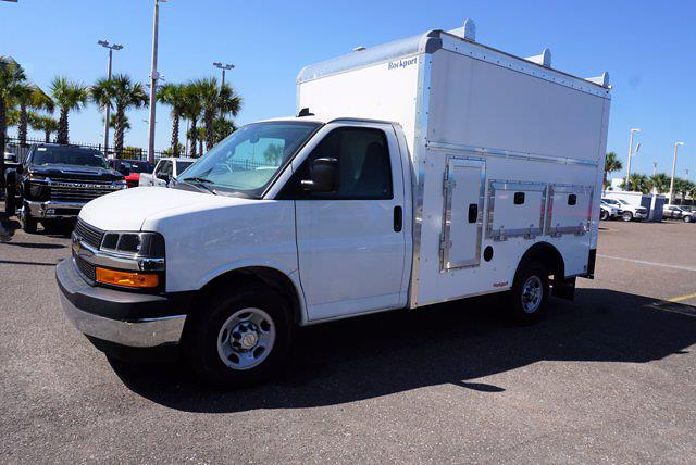2020 Chevrolet Express 3500 4x2, Rockport Workport Service Utility Van #20G108 - photo 1