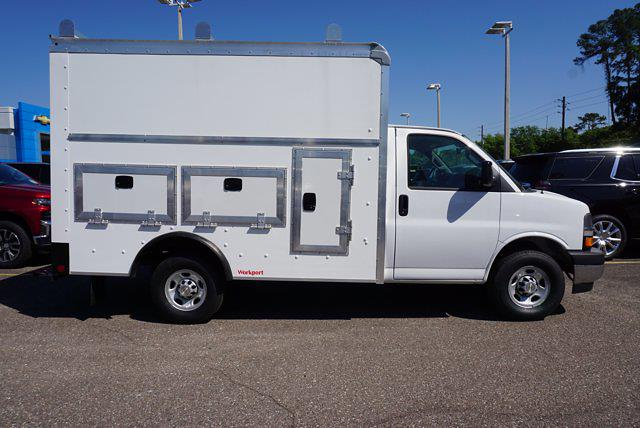 2020 Chevrolet Express 3500 4x2, Rockport Workport Service Utility Van #20G108 - photo 4