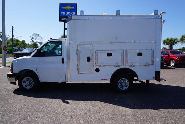 2020 Chevrolet Express 3500 4x2, Rockport Workport Service Utility Van #20G108 - photo 8