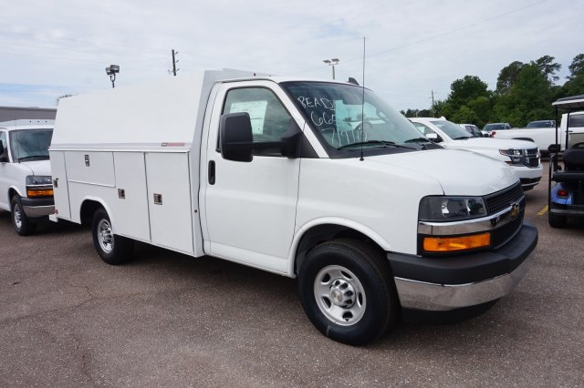 2019 Express 3500 4x2, Reading Service Utility Van #20G25 - photo 1
