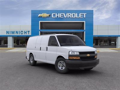 2020 Chevrolet Express 2500 RWD, Empty Cargo Van #20G28 - photo 1