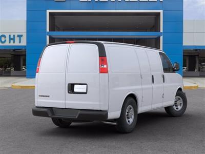 2020 Chevrolet Express 2500 RWD, Empty Cargo Van #20G35 - photo 2