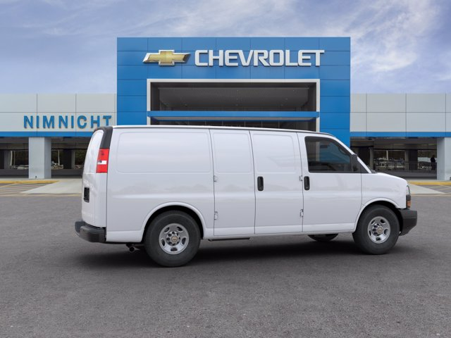 2020 Chevrolet Express 2500 RWD, Empty Cargo Van #20G44 - photo 5