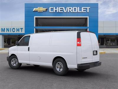 2020 Chevrolet Express 2500 RWD, Empty Cargo Van #20G44 - photo 4