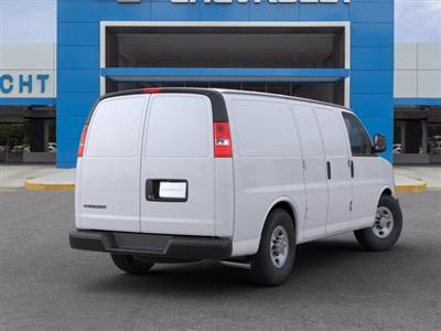 2020 Chevrolet Express 2500 RWD, Empty Cargo Van #20G44 - photo 2