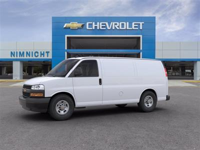 2020 Chevrolet Express 2500 RWD, Empty Cargo Van #20G45 - photo 3