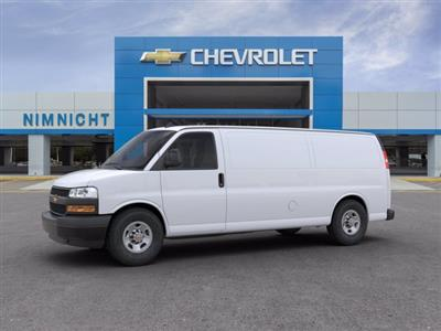 2020 Chevrolet Express 2500 RWD, Empty Cargo Van #20G78 - photo 3