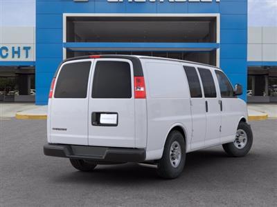 2020 Chevrolet Express 2500 RWD, Empty Cargo Van #20G91 - photo 2
