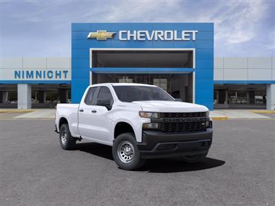 2021 Chevrolet Silverado 1500 Double Cab 4x2, Pickup #21C228 - photo 1