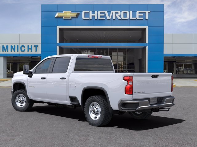 2021 Chevrolet Silverado 2500 Crew Cab 4x4, Pickup #21C256 - photo 4