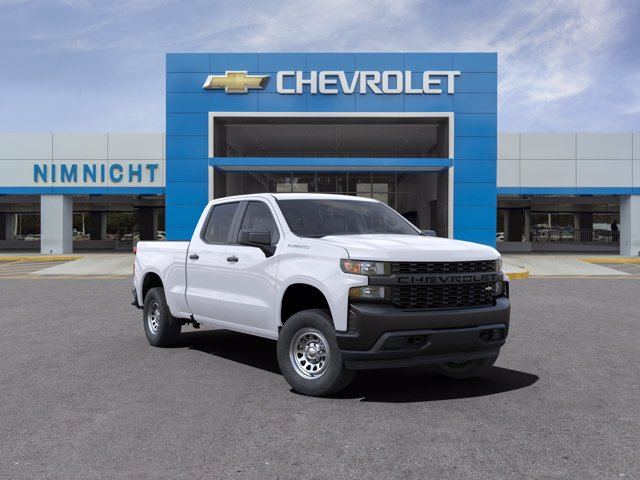 2021 Chevrolet Silverado 1500 Crew Cab 4x4, Pickup #21C496 - photo 1