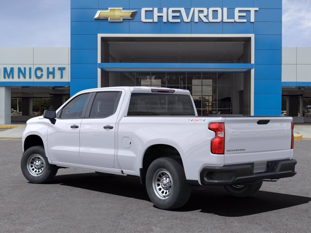2021 Chevrolet Silverado 1500 Crew Cab 4x4, Pickup #21C496 - photo 4