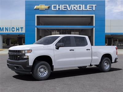 2021 Chevrolet Silverado 1500 Crew Cab 4x4, Pickup #21C496 - photo 3