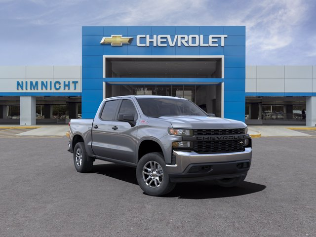 2021 Chevrolet Silverado 1500 Crew Cab 4x4, Pickup #21C554 - photo 1