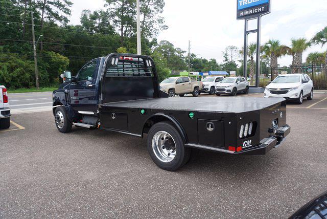 2021 Chevrolet Silverado 4500 Regular Cab DRW 4x2, CM Truck Beds SK Model Platform Body #21C578 - photo 7