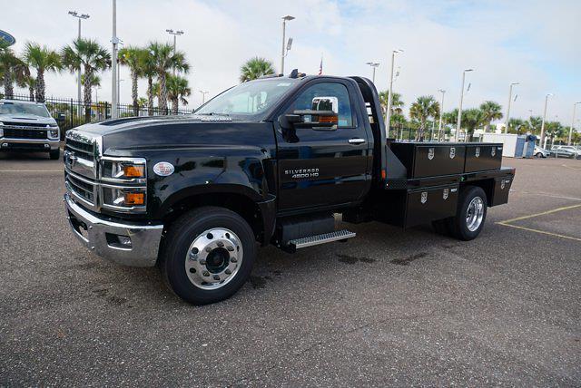 2021 Silverado 4500 Regular Cab DRW 4x2,  CM Truck Beds Platform Body #21C579 - photo 4
