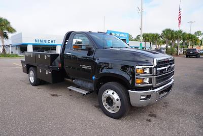 2021 Silverado 4500 Regular Cab DRW 4x2,  CM Truck Beds Platform Body #21C579 - photo 1
