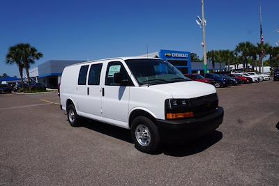 2021 Chevrolet Express 2500 4x2, Adrian Steel Upfitted Cargo Van #21G36 - photo 1