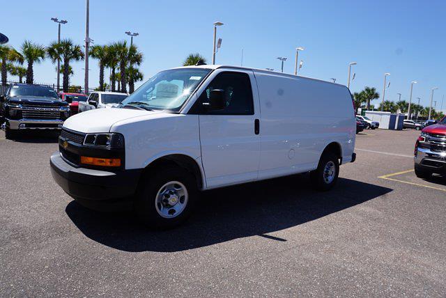 2021 Chevrolet Express 2500 4x2, Adrian Steel Upfitted Cargo Van #21G40 - photo 7