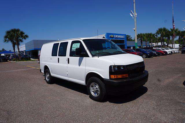 2021 Chevrolet Express 2500 4x2, Adrian Steel Upfitted Cargo Van #21G42 - photo 1