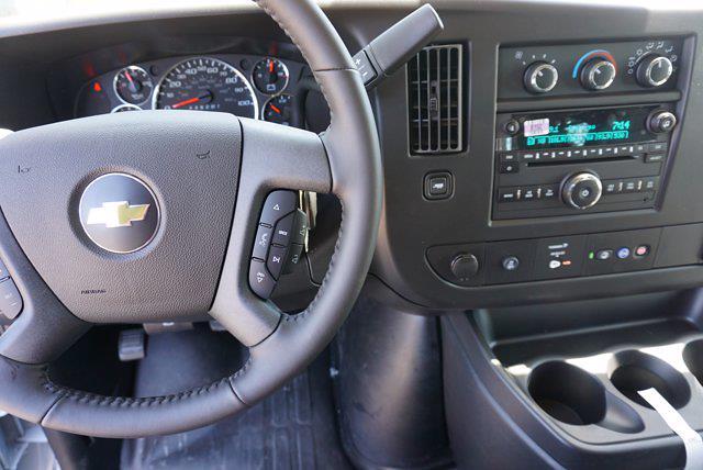 2021 Chevrolet Express 2500 4x2, Adrian Steel Upfitted Cargo Van #21G44 - photo 10