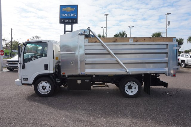 2018 LCF 4500 Regular Cab 4x2, C & S Commercial Truck and Van Equipment Landscape Dump #8C1524 - photo 10