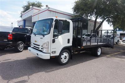 2018 LCF 4500 Regular Cab 4x2, Cadet Grassmaster Dovetail Landscape #8C1527 - photo 1