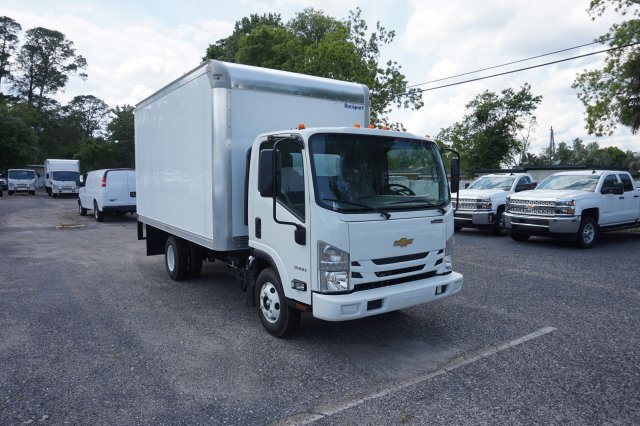 2018 LCF 3500 Regular Cab 4x2,  Rockport Truck Body Dry Freight #8C1674 - photo 5