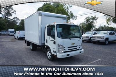 2018 LCF 3500 Regular Cab 4x2,  Rockport Truck Body Dry Freight #8C1674 - photo 1