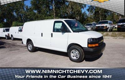 2018 Express 2500 4x2,  Adrian Steel Commercial Shelving Upfitted Cargo Van #8G144 - photo 1