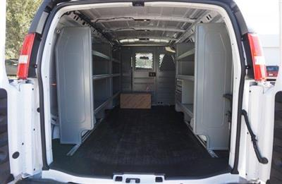 2018 Express 2500 4x2,  Adrian Steel Commercial Shelving Upfitted Cargo Van #8G148 - photo 2