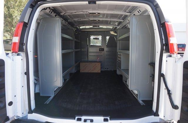 2018 Express 2500 4x2,  Adrian Steel Commercial Shelving Upfitted Cargo Van #8G151 - photo 2
