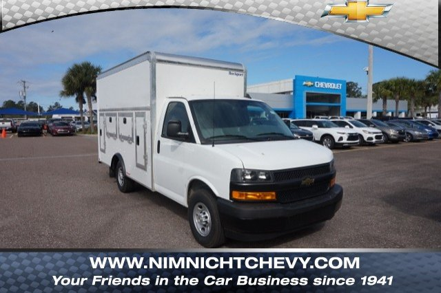 2018 Express 3500 4x2,  Rockport Service Utility Van #8G163 - photo 1