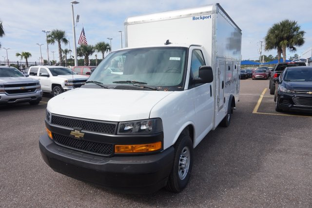 2018 Express 3500 4x2,  Rockport Workport Service Utility Van #8G163 - photo 3