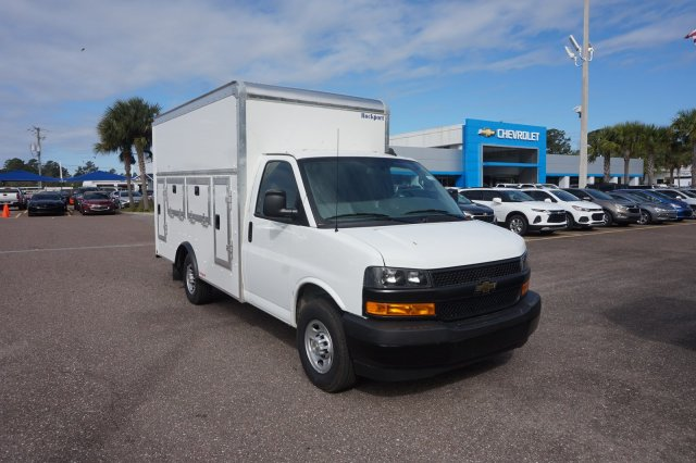 2018 Express 3500 4x2,  Rockport Workport Service Utility Van #8G163 - photo 5