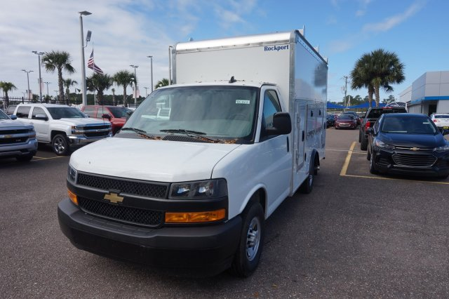 2018 Express 3500 4x2,  Rockport Workport Service Utility Van #8G164 - photo 3
