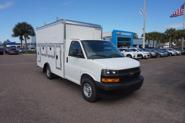 2018 Express 3500 4x2,  Rockport Workport Service Utility Van #8G164 - photo 5