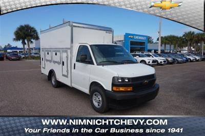 2018 Express 3500 4x2,  Rockport Service Utility Van #8G164 - photo 1