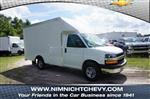2018 Express 3500 4x2,  Rockport Cargoport Cutaway Van #8G61 - photo 1