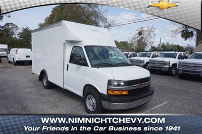 2018 Express 3500 4x2,  Rockport Cargoport Cutaway Van #8G95 - photo 1