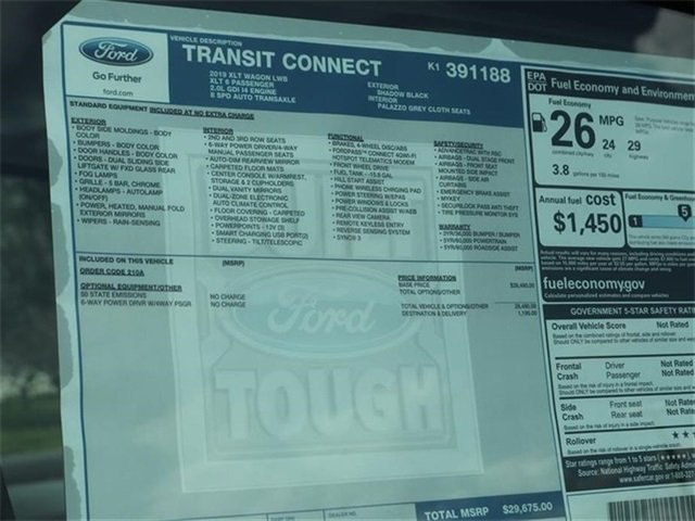 2019 Transit Connect 4x2,  Passenger Wagon #20446 - photo 10