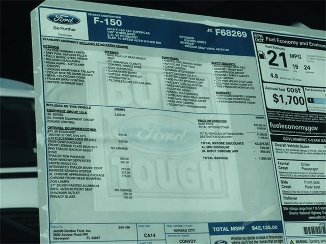 2018 F-150 Super Cab 4x4,  Pickup #40033 - photo 10